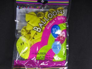 BALLOONS HAPPY FACE