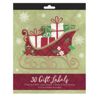 GIFT LABELS 30 COUNT