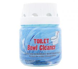 TOILET BOWL CLEANER GLASS JAR 8 OZ