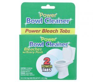 POWER BOWL CLEANER POWER BLEACH TABS 2 TABS