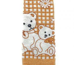 BEAR HAND TOWEL 13 X 28 INCH