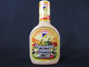 GABRIELA SALAD DRESSING 16Z THOUSAND ISLAND