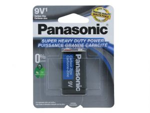 Panasonic Super Heavy Duty 9V Battery 1 Count