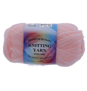LIGHT PINK ACRYLIC YARN