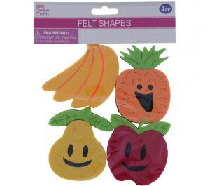 FELT FRUIT 4 PACK