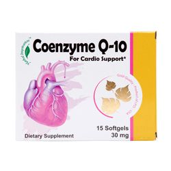COENZYME Q-10 15CT CARDIO SUPPORT#HERBAL INSPIRATION 2Y