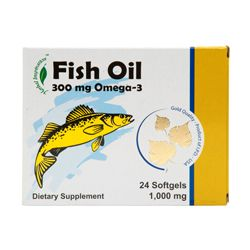FISH OIL 20CT OMEGA-3 #HERBAL INSPIRATION 2Y