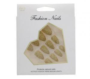 GOLD FASHION NAILS