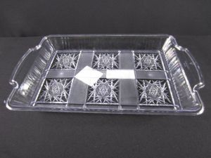 SERVING TRAY CLEAR