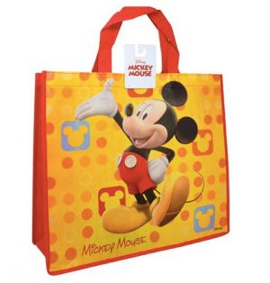 MICKEY MOUSE LARGE ECO FRIENDLY NON WOVEN TOTE BAG