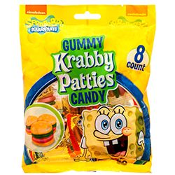 SPONGEBOB GUMMY KRABBY PATTIES 2.54 OZ