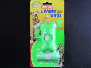 PET DISPENSER AND WASTE BAG