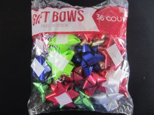 GIFT BOWS 36PC
