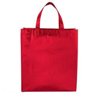 RED MEDIUM TOTE BAG