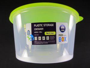 PLASTIC STORAGE CONTAINER 135 OZ