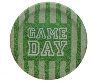 GAME DAY PLATE 7 INCH