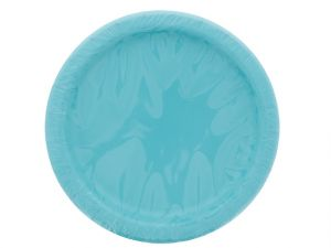 Teal 7 Inch Dessert Plates 20 Count