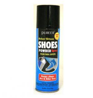 PUREER SHOES POWDER SPRAY 4.8 OZ