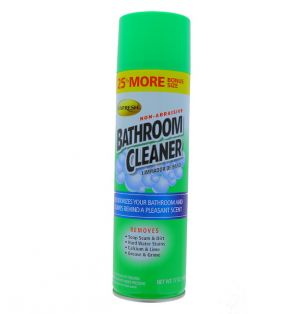 BATHROOM CLEANER LEMON SCENT 17 OZ