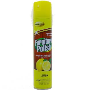 FURNITURE POLISH LEMON SCENT 10 OZ