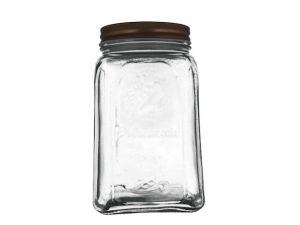 GLASS JAR W LID