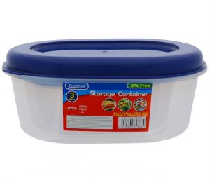 STORAGE CONTAINER OVAL 1.3 LITER