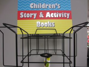 BOOK SPINING RACK