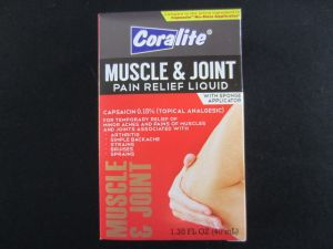 MUSCLE AND JOINT PAIN RELIEF LIQUID
