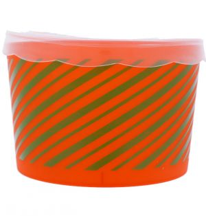 STORAGE FOOD CHRISTMAS CONTAINER ROUND