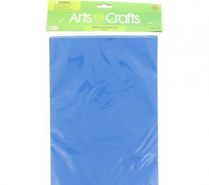 ADHESIVE FOAM SHEETS BLUE 8 INCH X 12 INCH