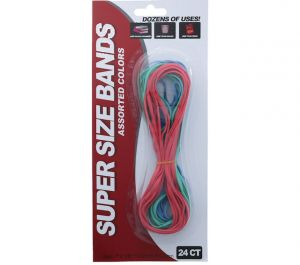 SUPER SIZE BANDS ASSORTED COLORS