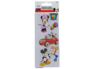 MICKEY AND FRIENDS STICKERS 3D