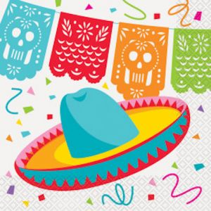 FIESTA LUNCH NAPKIN 16 CT