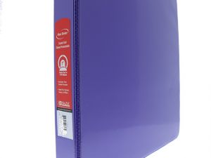 BINDER 1 IN PURPLE