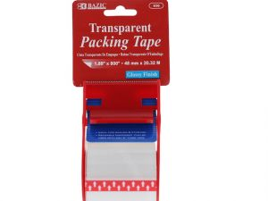 Clear Packing Tape Dispenser With Tape