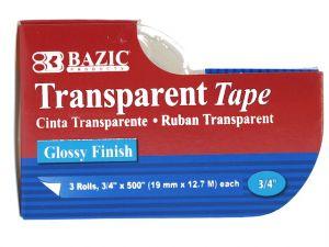 Transparent Tape 3PC