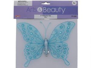 BUTTERFLY CLIP-BLUE XXX