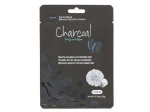 Celavi Charcoal Facial Face Mask 1 Sheet