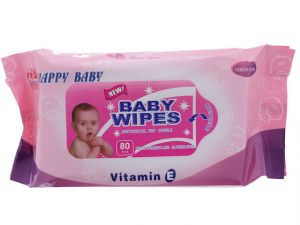 BABY WIPES VITAMIN E