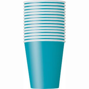 TEAL 9OZ CUPS