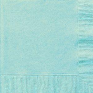 BABY BLUE BEVERAGE NAPKINS