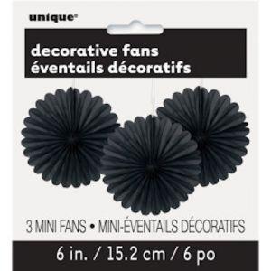 DECOR FANS BLACK
