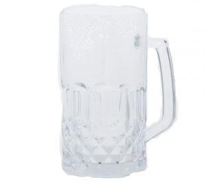 """BEER GLASS MUG 20.6 oz height 6.1"""""""
