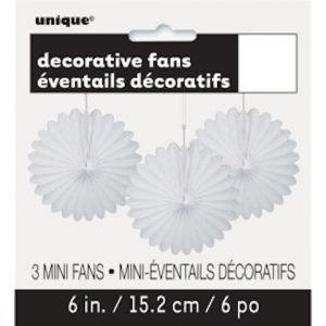 DECOR FANS WHITE
