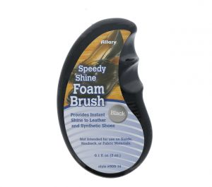 SHOE FOAM BRUSH BLACK