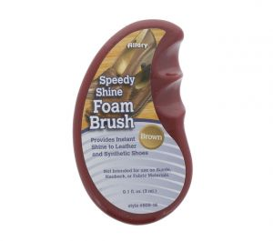 SHOE FOAM BRUSH BROWN