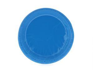 Royal Blue 7 Inch Dessert Plates 20 Count