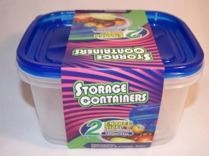 EZ Rectangle Food Container 64 Oz