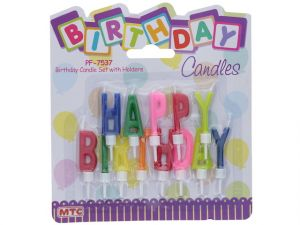 CANDLE HAPPY BIRTHDAY SET