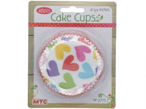 CAKE CUPS HEARTS